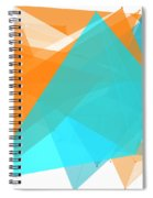 Research Polygon Pattern Spiral Notebook