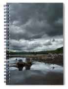 Reservoir Logs Spiral Notebook