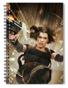 Resident Evil Afterlife Spiral Notebook