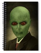 Resident Professor Of Interplanetary Research Area 51 Spiral Notebook