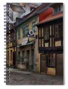 Residential Neighborhood Spiral Notebook