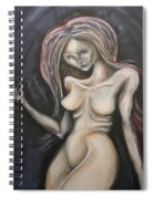 Residual Image Spiral Notebook