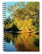 Yamhill River Reflections Spiral Notebook