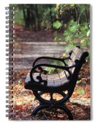 Rest A While Spiral Notebook