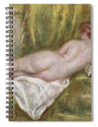 Rest After The Bath Spiral Notebook