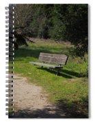 Rest Along The Path Spiral Notebook