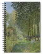 Rest Along The Stream - Edge Of The Wood Spiral Notebook