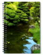 Rest By The Pond Spiral Notebook