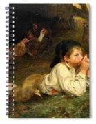 Rest In The Henhouse Spiral Notebook