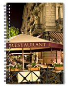 Restaurant In Budapest Spiral Notebook