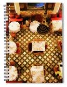 Restaurant Palais Des Merinides Fes Morocco Paint  Spiral Notebook