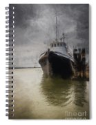 Resting At The Dock Spiral Notebook