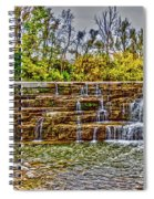 Resting Falls Spiral Notebook