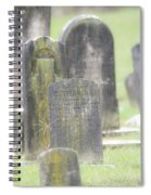 Resting Place In The Rain Spiral Notebook