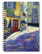Resto Le Cochon Dingue  In Old Quebec Spiral Notebook