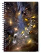 Restricting The Flow Of Insignificance Spiral Notebook