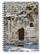 Resurrection - Garden Tomb Spiral Notebook
