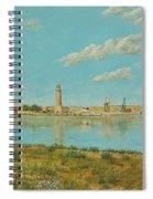 Rethymno Harbour - Crete Spiral Notebook