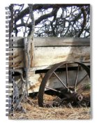 Retired Farm Wagon Spiral Notebook
