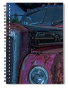 Retired Rusty Mack IIi Spiral Notebook