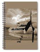 Retired - Sepia Spiral Notebook