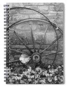 Retired Wheel Spiral Notebook