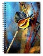 Retirement Watercolor Spiral Notebook