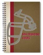 Retro 49ers Art Spiral Notebook