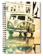 Retro 60s Toy Van Spiral Notebook
