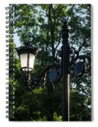 Retro Chic Streetlamps - Old World Charm With A Modern Twist Spiral Notebook