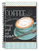 Retro Coffee 1 Spiral Notebook