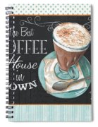Retro Coffee 2 Spiral Notebook