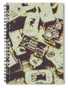 Retro Computer Games Spiral Notebook