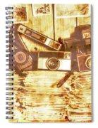 Retro Film Cameras Spiral Notebook