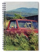 Retro Ford Spiral Notebook