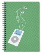 Retro Ipod Spiral Notebook