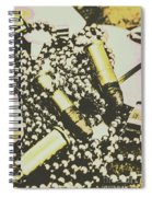 Retro Military Poster Art Spiral Notebook