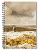 Retro Mountaintop Views Spiral Notebook