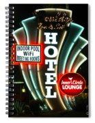 Retro Neon Spiral Notebook