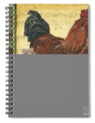 Retro Rooster 2 Spiral Notebook