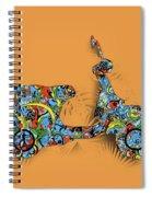 Retro Scooter 2 Spiral Notebook