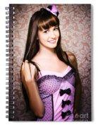 Retro Showgirl Spiral Notebook