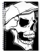 Retro Skull Spiral Notebook