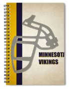 Retro Vikings Art Spiral Notebook