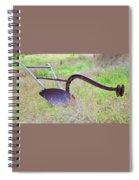 Retrofit Walk-behind Plow Spiral Notebook