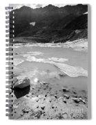 Rettenbachferner Melting Water Spiral Notebook