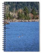 Return To The Bay Spiral Notebook