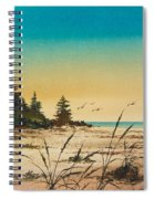 Return To The Shore Spiral Notebook