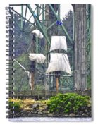 Return To The Yaquina Bay Spiral Notebook