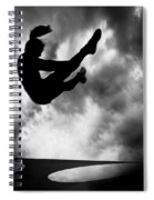 Returning To Earth Spiral Notebook